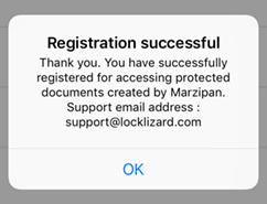 iOS Message