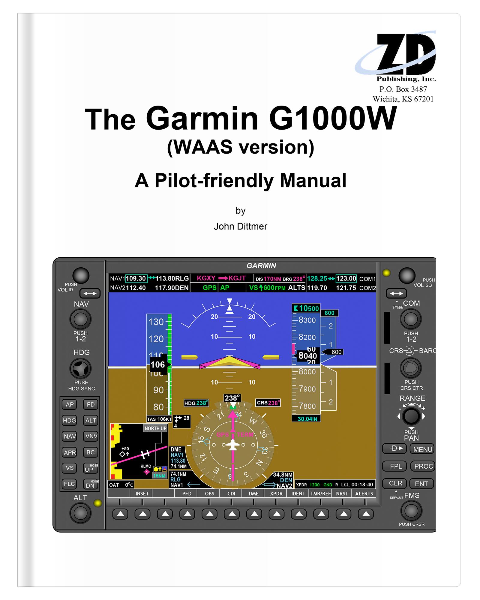 Garmin G1000W (WAAS version)