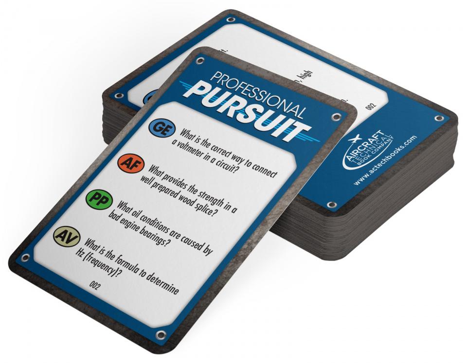Professional Pursuit  Deck of 400 AMT Flash Cards
