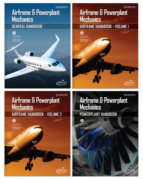 Airframe and Powerplant Mechanics Handbooks Set of 4