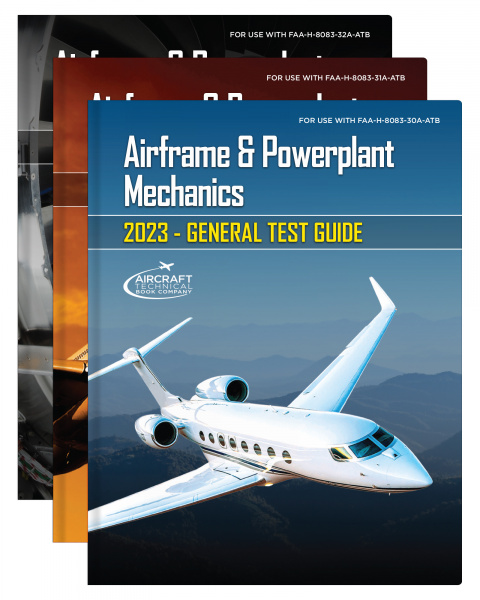 2022 A&P Test Guides Set of 3
