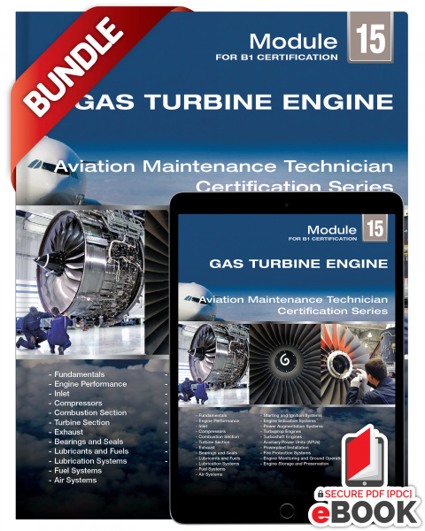 Gas Turbine Engines: Module 15 (B1) - Bundle
