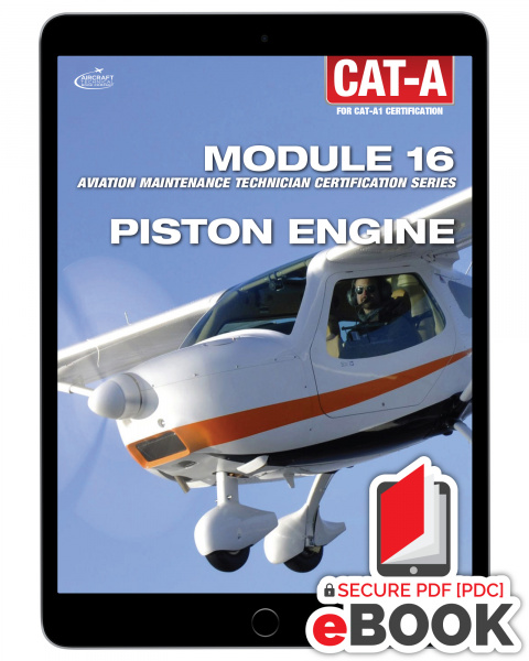 Piston Engine Module 16 for CAT-A