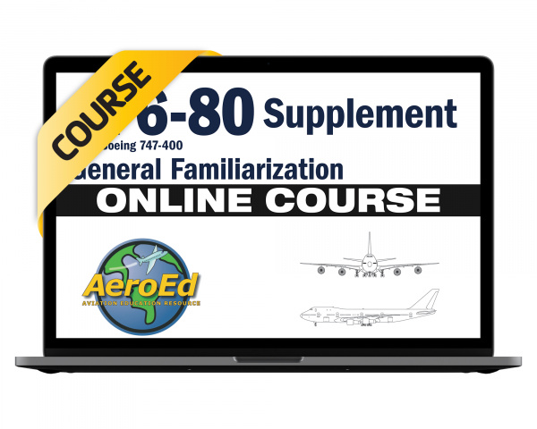 CF6-80 Engines for 747-400 General Familiarization Course