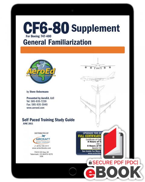 CF6-80 Engine General Familiarization - eBook