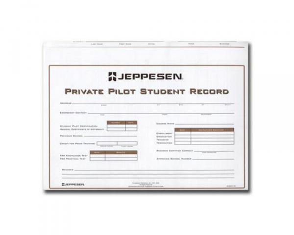 Private Record Folder - Jeppesen