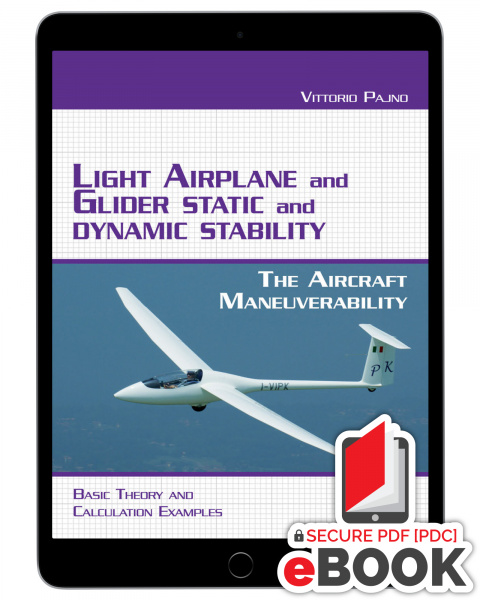 Light Airplane and Glider Static and Dynamic Stability - eBook