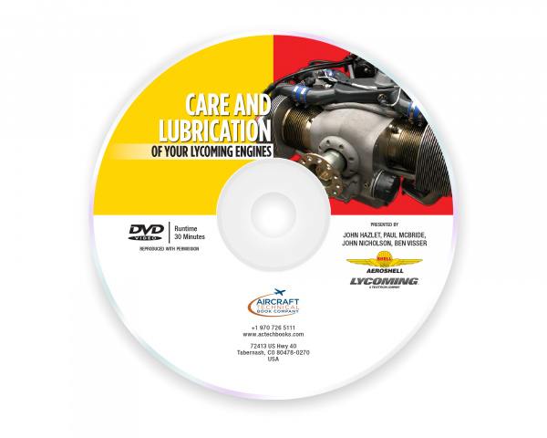 Care and Lubrication of  Your Lycoming Engines - DVD