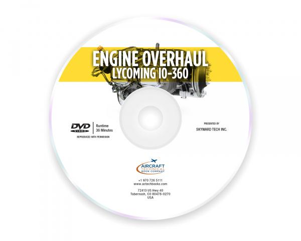 Engine Overhaul  Lycoming I0-360 - DVD
