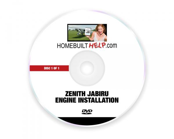 Zenith Jabiru Engine Installation - DVD