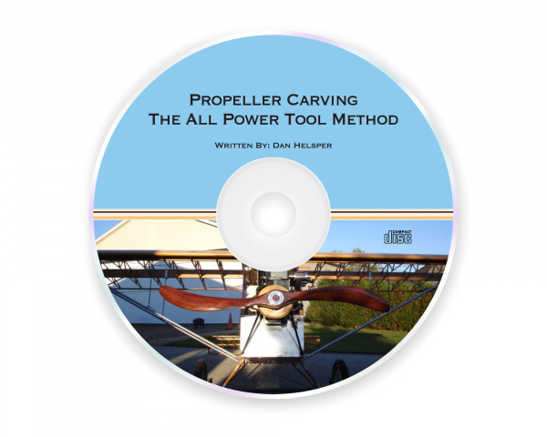 Propeller Carving The All Power Tool Method - CD